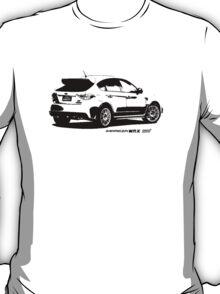 Subaru Impreza WRX STI 2008 Rear View T-Shirt