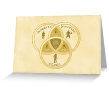 The One Venn Greeting Card