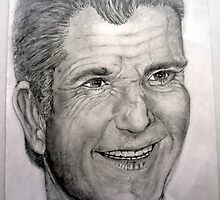 Mel Gibson by JimmyT
