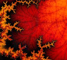 volcanic fractal by NafetsNuarb