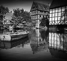Aarhus old town by Paul Davis