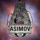 Forever Asimov (white) by olivertrigger