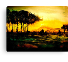 Shadowed Scenes... Canvas Print
