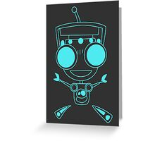 Gir Greeting Card