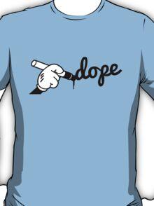 Dope Writng T-Shirt