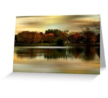 Evening Sets In © Greeting Card