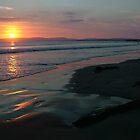 Rossnowlagh Beach Sunset by Adrian McGlynn