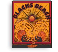 BLACKS BEACH Canvas Print