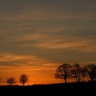 Castlederg Sunset by Adrian McGlynn