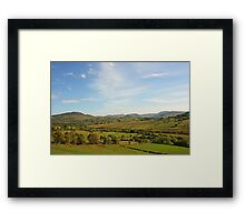 The Bluestack Mountains Framed Print