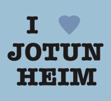 I <3 Jotunheim Kids Clothes