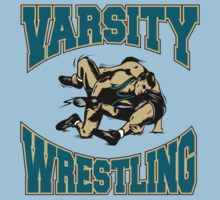 Varsity Wrestling by SportsT-Shirts
