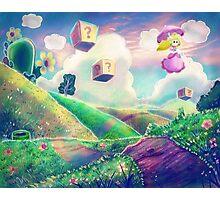 Princess Peach Landscape Photographic Print