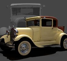 1929 Ford Model A Business Coupe by TeeMack