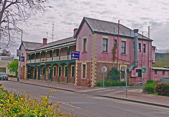 Belmore Hotel, Scone, New South Wales, Australia by Margaret  Hyde