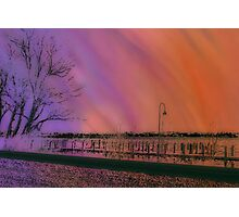 I Made the Sunset Photographic Print