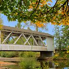 Larwood Bridge, Scio Oregon by Jim Stiles