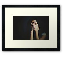 """""""A dream is just a nightmare with lipstick.""""   ― Toni Morrison Framed Print"""