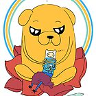 Adventure Time- Finn, Jake, and BMO by SendMeLetters