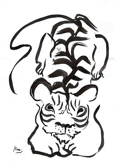 Tiger Cub by SendMeLetters