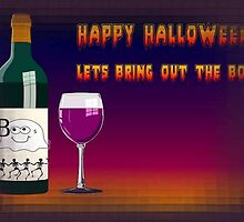 Happy Halloween Let's Bring Out the Boo's Greeting by taiche