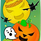 Halloween Happy Haunting  by Jamie Wogan Edwards