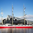 Tall Ship and Riverside Museum, Glasgow by Togfather