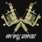 Tattooing's in my bones by Psychobilly-Tee