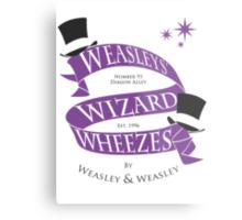 Weasleys' Wizard Wheezes Metal Print