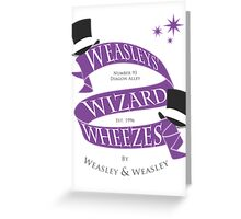 Weasleys' Wizard Wheezes Greeting Card