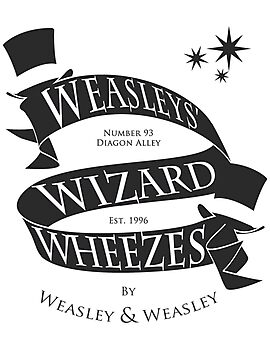 Weasleys' Wizard Wheezes (B&W) by thegadzooks