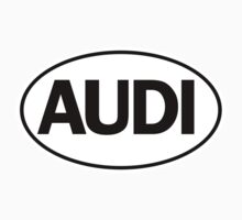 AUDI - Oval Identity Sign by Ovals