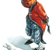 Jack O'Lantern - Naughty Rabbit by JBMonge