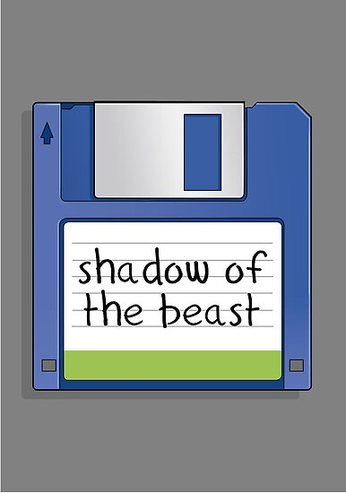 Shadow of the beast Retro MS-DOS/Commodore Amiga games by Creative Spectator