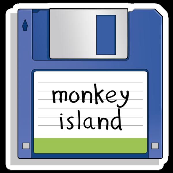 Monkey Island Retro MS-DOS/Commodore Amiga games by Creative Spectator