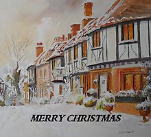 Christmas in Chilham Kent by Beatrice Cloake
