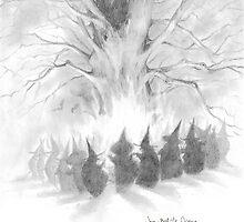 Witches' Sabbath by JBMonge