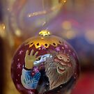 A silly guy on a christmas ornament by Sven Brogren