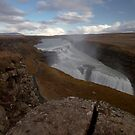 Gullfoss waterfall by Sven Brogren