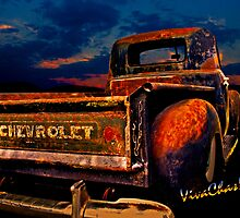 Rat Rod Chevy Truck the Pickup Chevrolet Never Made by ChasSinklier