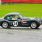Jaguar XK140 No 24 by Willie Jackson