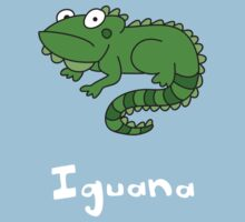 I for Iguana by gillianjaplit
