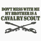 Army Cavalry Scout by sassybetty