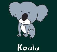 K for Koala by gillianjaplit