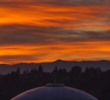 Sunrise Over Tacoma Dome 18 OCT 2012 Wa. State U.S.A by Vincent Frank