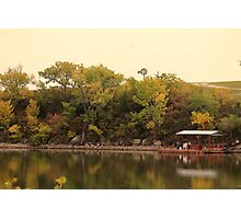 Tranquil Marion County Lake  Photographic Print