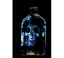 The Blue Bottle Photographic Print