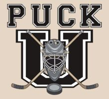 "Hockey ""PUCK U"" by SportsT-Shirts"