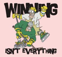 "Funny Hockey ""Winning Isn't Everything"" Kids Clothes"