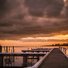 Day break at Portarlington by Julie Begg